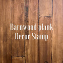 Tampon double plaque BARNWOOD PLANKS