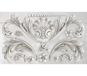 Moule silicone Acanthus Scroll