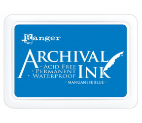 Archival Ink MANGANESE BLUE