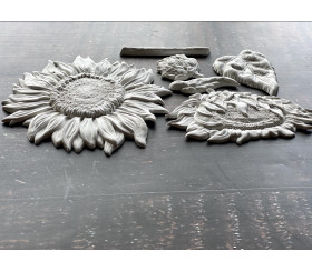 Moule silicone SUNFLOWERS